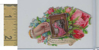 Victorian Diecuts, 1890's, Flowers, (111) Hand, Man & Woman