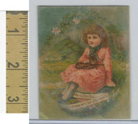 Victorian Diecuts & Cards, 1890's, Girls, New Year (26)
