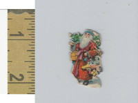Victorian Diecuts & Cards, 1890's, Holidays, Christmas Santa Claus (8)