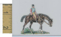 Victorian Diecuts, 1890's, Horses, Race Horse, After The Race (11)