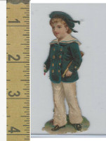 Victorian Diecuts, 1890's, Ships & Nautical, (12) Sailor Boy