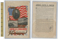 Victorian Diecuts & Cards, 1890's, US History, (4) Am. Commanders, Porter