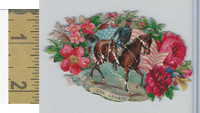 Victorian Diecuts, 1890's, US History, (7) General Grant, Flowers