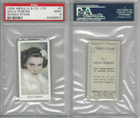 A5-18 Abdulla, Screen Stars, 1939, #7 Nova Pilbeam, PSA 9 Mint