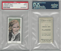 A5-18 Abdulla, Screen Stars, 1939, #12 Virginia Grey, PSA 9 Mint