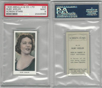 A5-18 Abdulla, Screen Stars, 1939, #26 Ruby Keeler, PSA 9 Mint