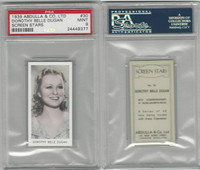 A5-18 Abdulla, Screen Stars, 1939, #30 Dorothy Belle Dugan, PSA 9 Mint