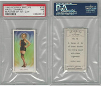 P50-91d Phillips, Beauties Of To-Day, 1940, #16 Hazel Lombard, PSA 7 NM
