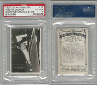 P18-78 Pattreiouex, Sporting Events, 1935, #13 Walter Lindrum, Billiards, PSA 4
