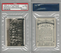 P18-78 Pattreiouex, Sporting Events, 1935, #17 Australia Speedway Team, PSA 4