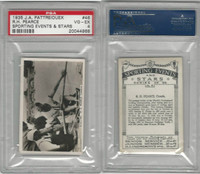 P18-78 Pattreiouex, Sporting Events, 1935, #46 RH Pearce, Sculling, PSA 4