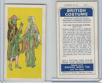 B0-0 Brooke Bond Tea, British Costume, 1967, #2 Day & Traveling Clothes
