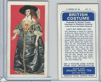 B0-0 Brooke Bond Tea, British Costume, 1967, #15 Lady's Day Dress
