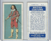 B0-0 Brooke Bond Tea, British Costume, 1967, #16 Man's Day Clothes