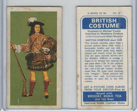 B0-0 Brooke Bond Tea, British Costume, 1967, #18 Scottish Chieftain
