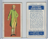B0-0 Brooke Bond Tea, British Costume, 1967, #25 Man's Day Clothes