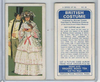 B0-0 Brooke Bond Tea, British Costume, 1967, #34 Day Clothes