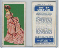 B0-0 Brooke Bond Tea, British Costume, 1967, #37 Lady's Evening Dress