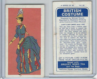 B0-0 Brooke Bond Tea, British Costume, 1967, #38 Lady's Day Dress
