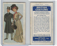 B0-0 Brooke Bond Tea, British Costume, 1967, #40 Day Clothes