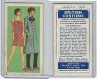 B0-0 Brooke Bond Tea, British Costume, 1967, #50 Day Clothes 1967