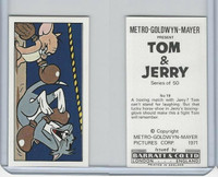 B0-0 Barratt, Tom & Jerry, 1971, #19 Boxing Cartoon