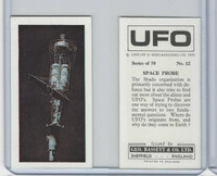 B0-0 Bassett, UFO, 1974 Space Cards, #12 Space Probe