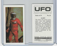 B0-0 Bassett, UFO, 1974 Space Cards, #25 Alien