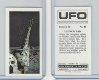 B0-0 Bassett, UFO, 1974 Space Cards, #39 Launch Pad