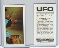 B0-0 Bassett, UFO, 1974 Space Cards, #48 Underground Office