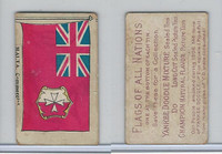 B128-2 British Aust. Tobacco, Flags of all Nations, 1907, Malta Commercial