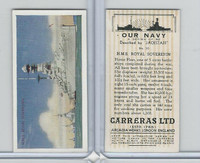 C18-62 Carreras, Our Navy, 1937, #10 HMS Royal Sovereign