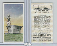 C18-62 Carreras, Our Navy, 1937, #19 HMS Eagle