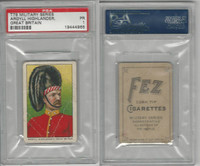 T79 Fez, Lenox, Tolstoi, Military, 1910, Argyll Highlander, Great Britain, PSA 1