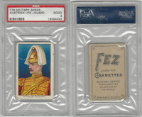 T79 Fez, Lenox, Tolstoi, Military, 1910, Austrian Life Guard, PSA 2 Good