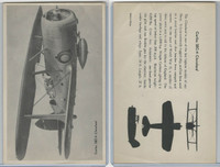 WC 1940's Official Photo Card, WW II Airplanes (4.5X7 in), Curtis SBC4 Cleveland