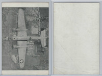 WC 1940's Photo Card, WW II Airplanes (5X8 in), B25 North American Bomber
