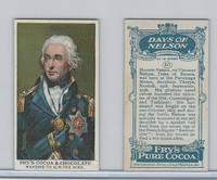 F0-0 Fry's Cocoa, Days of Nelson, 1906, #16 Horatio Nelson