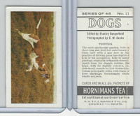 H0-0 Hornimans Tea, Dogs, 1961, #11 Pointer
