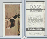 H0-0 Hornimans Tea, Dogs, 1961, #15 English Springer Spaniel