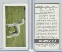 H0-0 Hornimans Tea, Dogs, 1961, #17 Bedlington Terrier