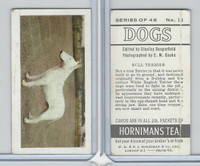 H0-0 Hornimans Tea, Dogs, 1961, #18 Bull Terrier