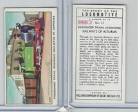 K0-0 Kellogg GB, Story of the Locomotive, 1963, #13 Passenger Train, Asturias