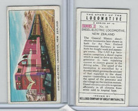 K0-0 Kellogg GB, Story of the Locomotive, 1963, #16 Diesel, New Zealand