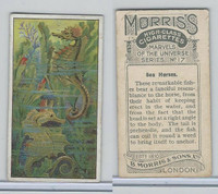M142-12 Morris, Marvels of the Universe, 1912, #17 Sea Horses