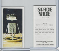 P0-0 Primrose, Space Race, 1969, #20 Design For Moon Landing