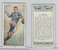 P72-100 Player, Footballers 1928, #6 Sam Cowan, Manchester City