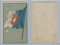 H626, Blank Back, National Flags, 1909, Portugal