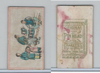 T442 British American Tobacco, Chinese Trades, 1910, Pin Head (1)