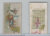 T442 British American Tobacco, Chinese Trades, 1910, Pin Head (10)
